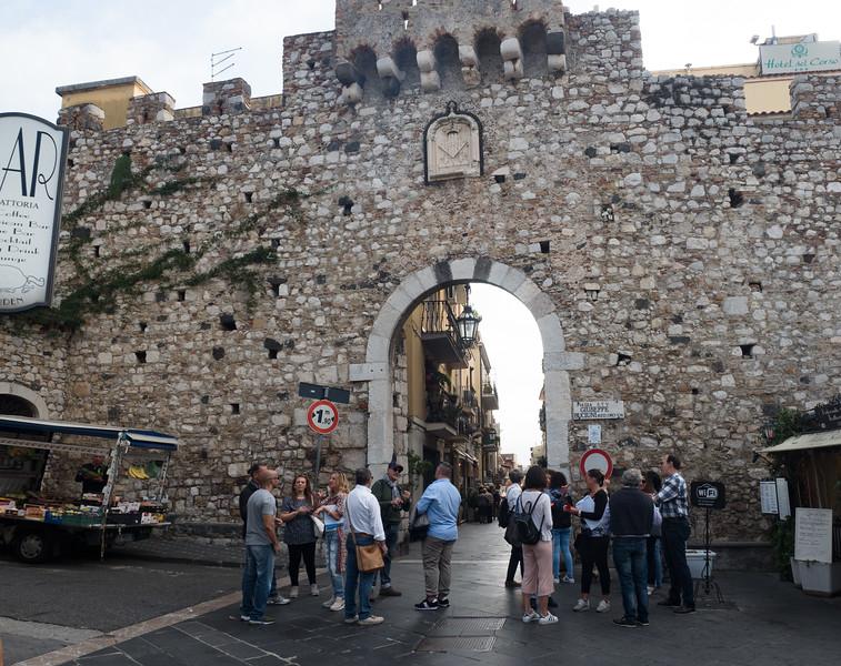 Porta Catania, Taormina
