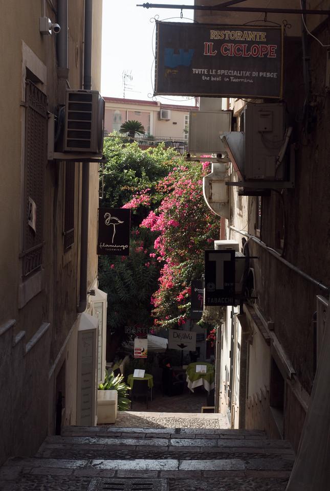 Taormina Street Scene