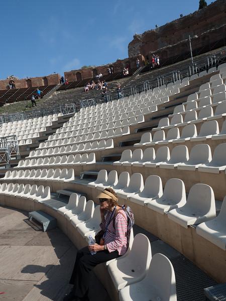 Alice in Greek Theatre, Taormina