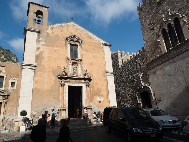 Chiesa St Catarina, Taormina
