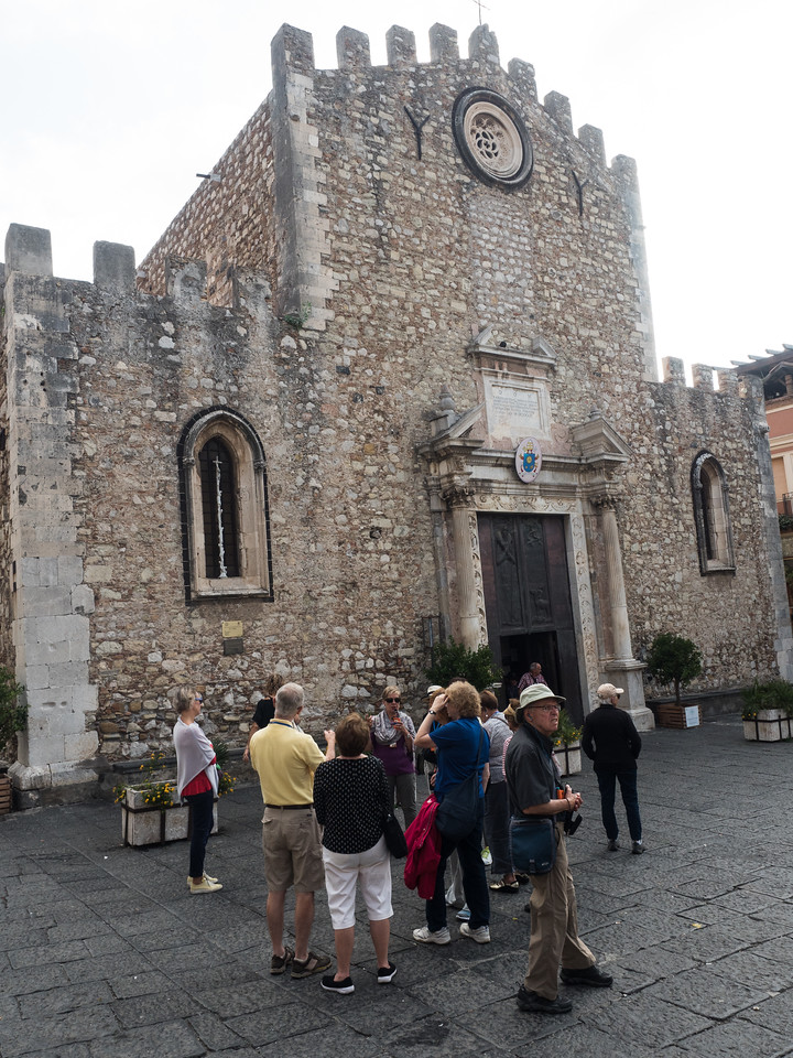 La cattedrale di San Nicolò a Taormina