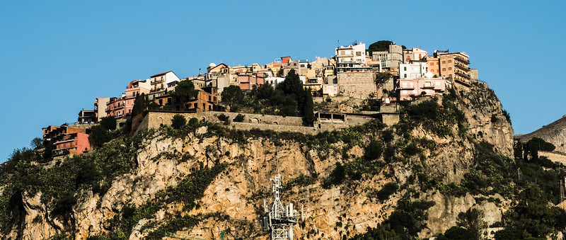 Castelmola, above the hotel