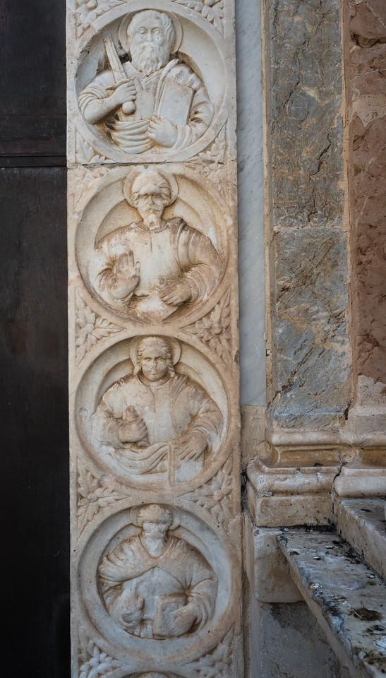 Deatil of the Duomo, Taormina