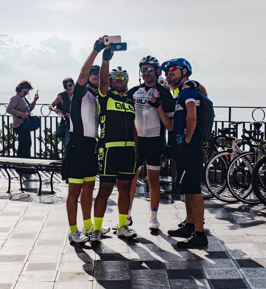 Selfie in Taormina