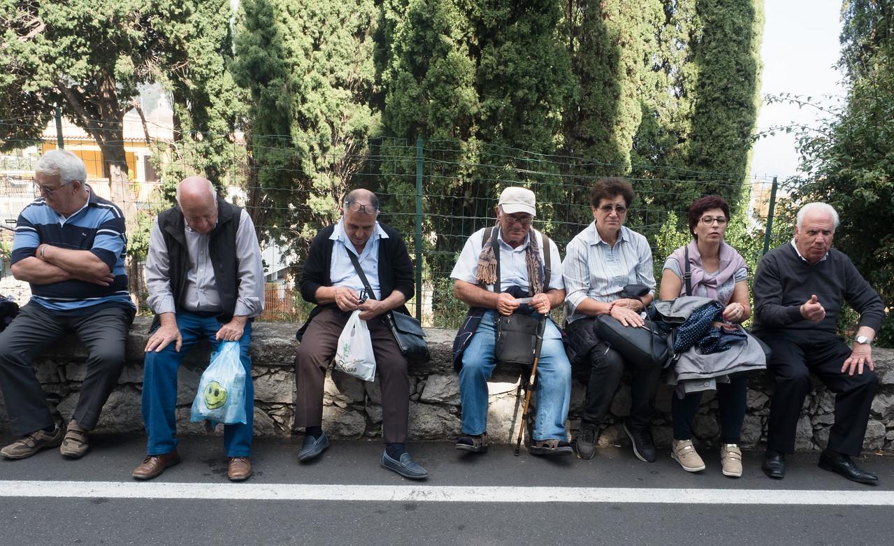 Taormina Bus stop