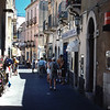 Shopping in Taormina, Sicily Italy