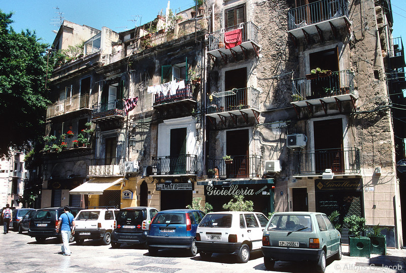 Residential Housing, Palermo, Sicily, Italy