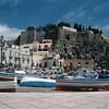 Lipari Town and Castello, Isola Lipari, Aeolian Islands, Italy