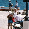 Italian daily life, Isola Lipari, Aeolian Islands, Italy