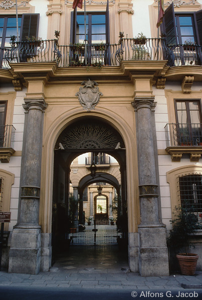 Characteristic Architectural Design, Palermo, Sicily, Italy
