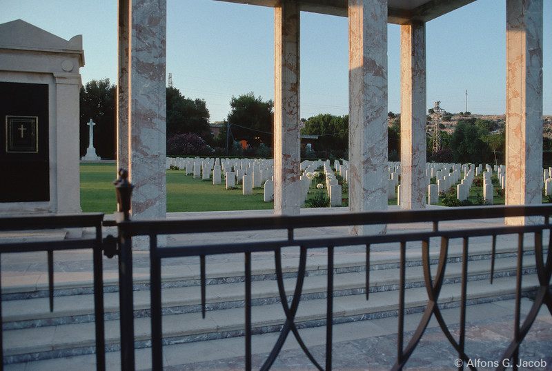Commonwealth War Graves Cemetery, Siracusa, Sicily, Italy