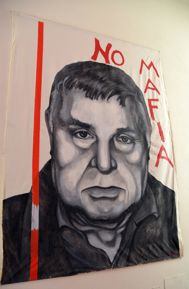 Corleone is the birthplace of the Mafia.  There is now a strong Anti Mafia movement.