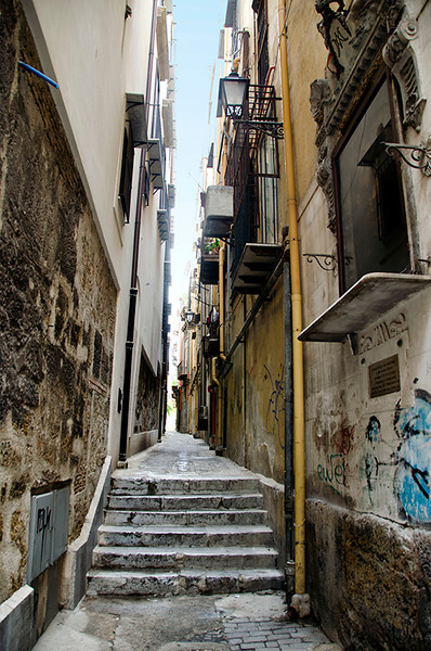 Alley in Palermo