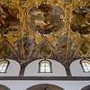 Ceiling of Santa Maria's Church of Randazzo