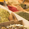 Spices for sale at a market in Ortygia (Siracusa)