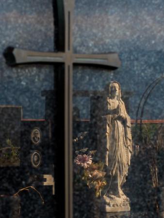 Cemetery on Mt. Etna
