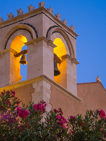 Sant Agostino Church in Piazza IX Aprile, Taormina