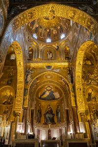 Norman Palace, Palatine Chapel Palermo, Sicily