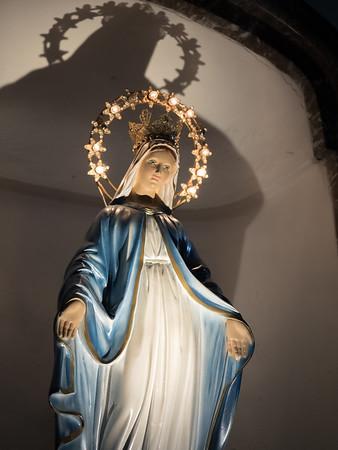 Inside Chiesa Sant'Antonio, Taormina