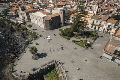 High above Aci Castello