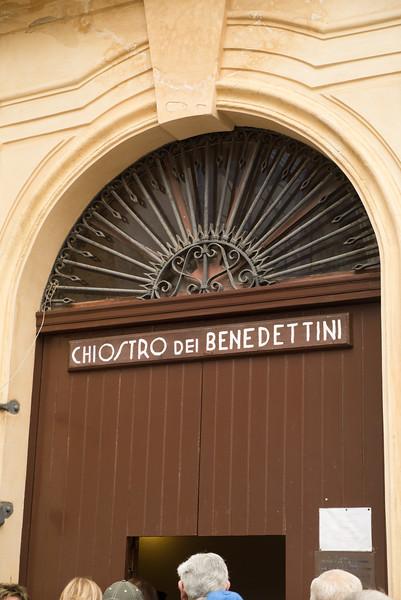 Benedictine Chloister, Monraele Cathedral