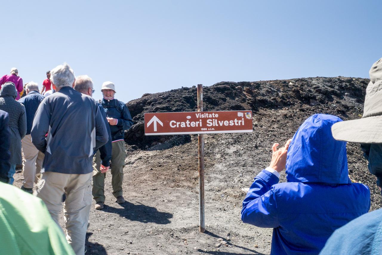 Crateri Silvestri, Mt Etna