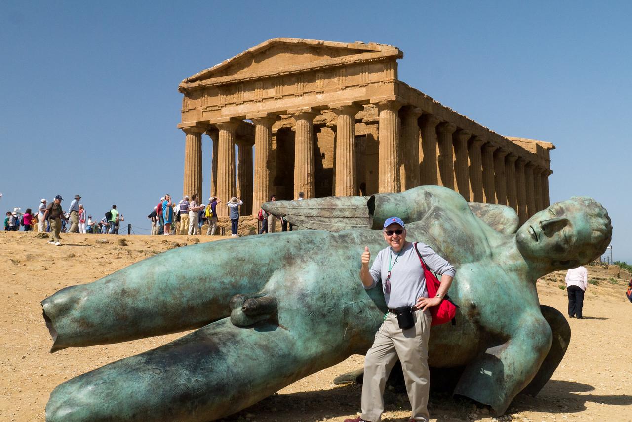 Icarus, Concordia Temple, Agrigento