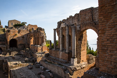 Teatro - Greco Romano - TAORMINA, SICILY
