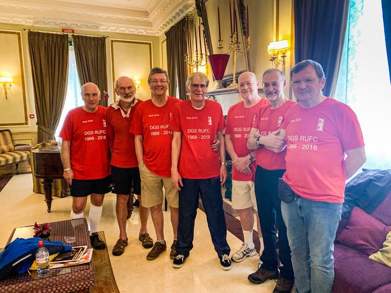Team at Hotel Villa Del Bosco