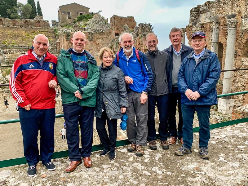 Tom, Pete, Mick, Dave, Stuart & Paul
