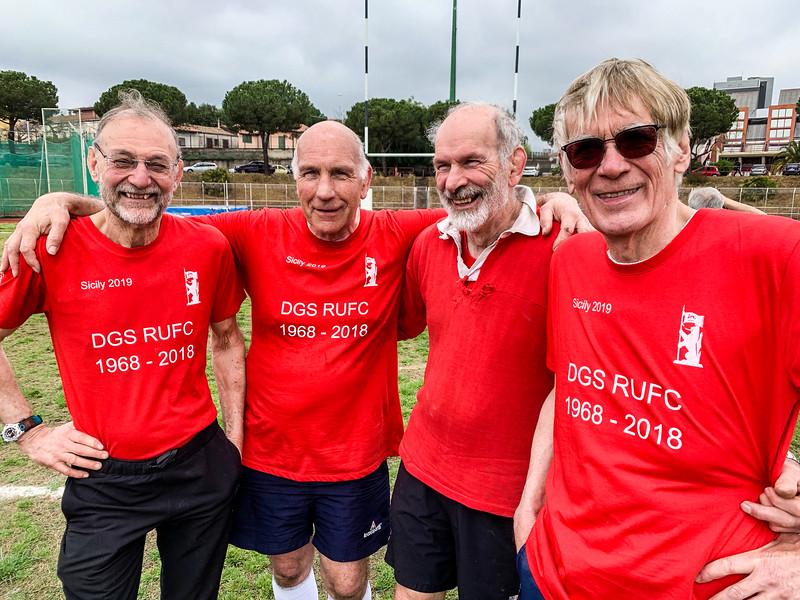 Dave, Tom, Mick & Dave at CUS University of Catania