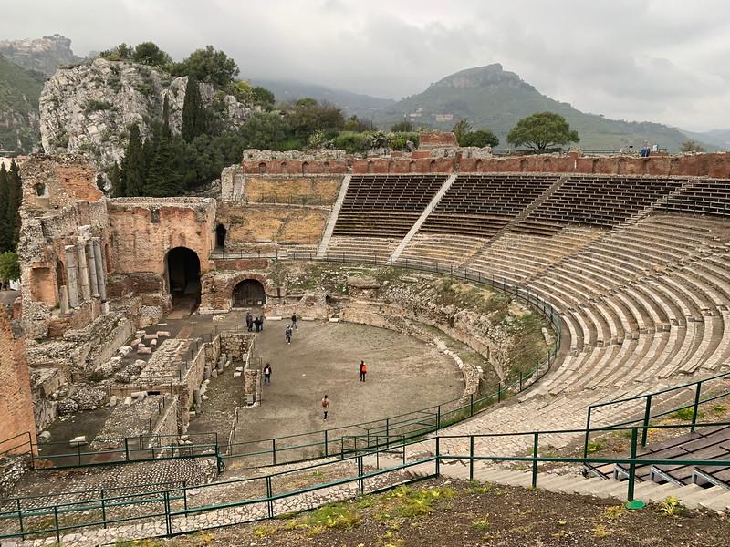 Greek teatro, Taormina