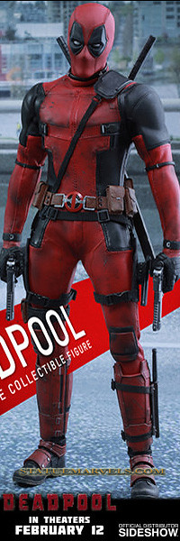 Deadpool Sixth Scale Figure by Hot Toys