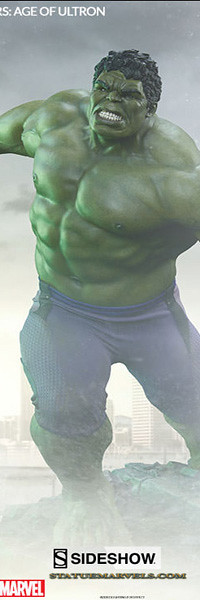 Hulk Maquette by Sideshow Collectibles Avengers: Age of Ultron