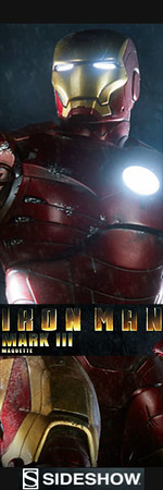 Sideshow Iron Man Mark III Maquette