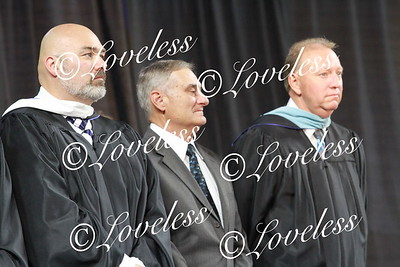 Receiving Diplomas 2017