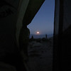 Moonrise from my tent