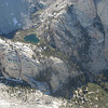 Looking down on Mirror Lake from Candlelight Peak.