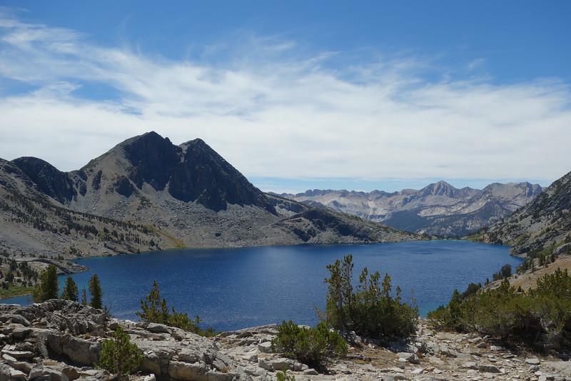 Peak 3596 (L).  Silver Peak in distance
