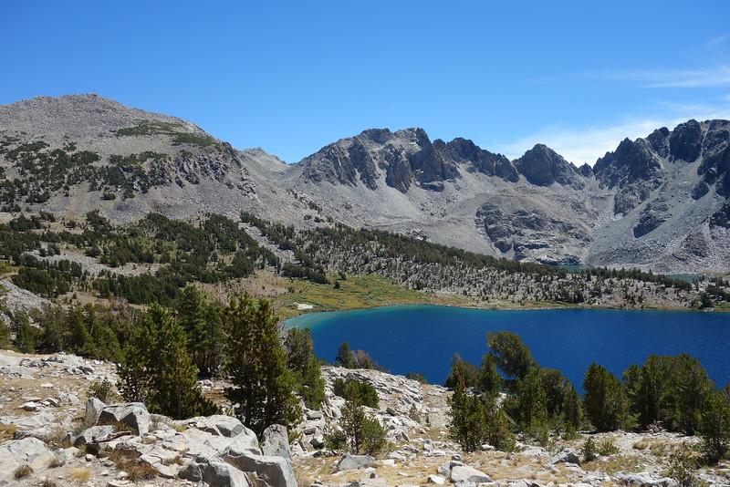 Duck Lake; Duck Lake Peak to the L