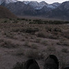 View from the Yota Inn in the Alabama Hills.