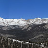 Cottonwood Pass (L) to Langely (R) pano