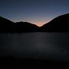 Sunrise over Tioga Lake
