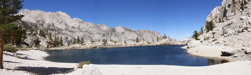 Lone Pine Lake Pano