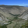 Looking back into the canyon from high on the headwall. (taken 8/2/08)