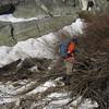 A few snow patches near Carillon Creek