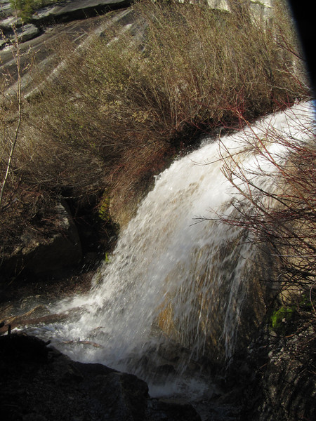 North Fork waterfall
