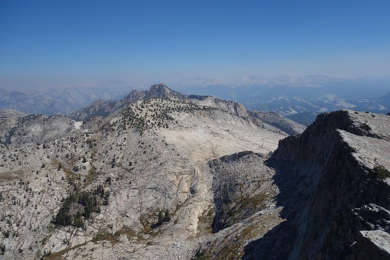 View NE - Tuolumne Peak in center