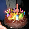 """I was """"birthdayed"""".  The tall candle played """"Happy Birthday"""""""