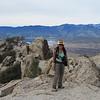 Cori arrives on the summit